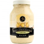 AJ's Walla Walla Sweet Onion Mustard With Dill - 32 oz