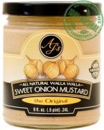 AJ's Natural Walla Walla Sweet Onion Mustard