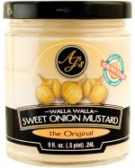 AJ's Walla Walla Sweet Onion Mustard the Original