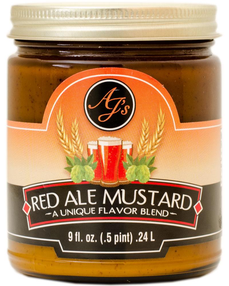 AJ's Red Ale Beer Mustard