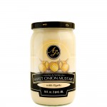 AJ's Walla Walla Sweet Onion Mustard With Roasted Garlic - 16 oz