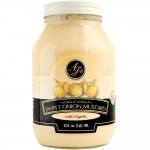 AJ's Walla Walla Sweet Onion Mustard With Roasted Garlic - 32 oz