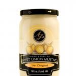AJ's Walla Walla Sweet Onion Mustard the Original - 16 oz