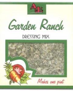AJ's Garden Ranch Dressing Mix