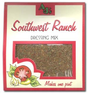 AJ's Southwest Ranch Dressing Mix