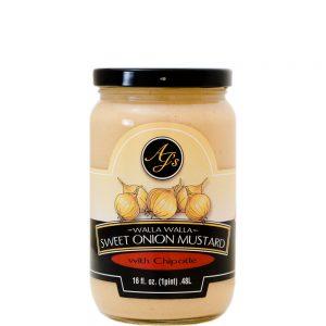 AJ's Walla Walla Sweet Onion With Chipotle - 16 oz