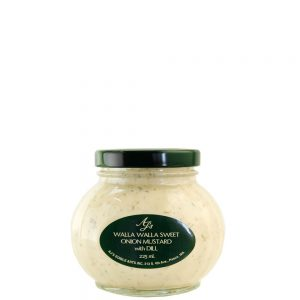 AJ's Walla Walla Sweet Onion Mustard With Dill - 225ml