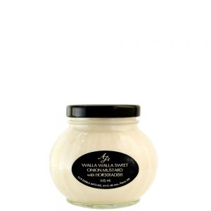 AJ's Walla Walla Sweet Onion Mustard With Horseradish - 225ml