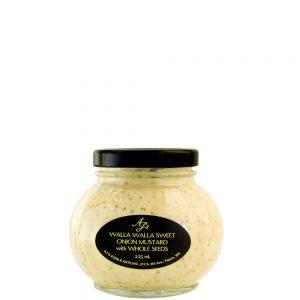 AJ's Walla Walla Sweet Onion Mustard With Whole Mustard Seed - 225 ml