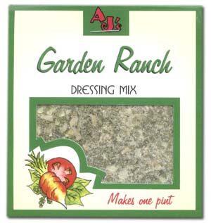 AJ's Garden Ranch Dressing Mix